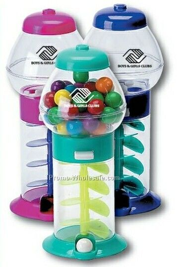 Assorted Color Mini Bubble Gum Machine
