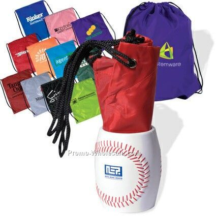 Bag In Baseball Can Holder (3 Day Rush)