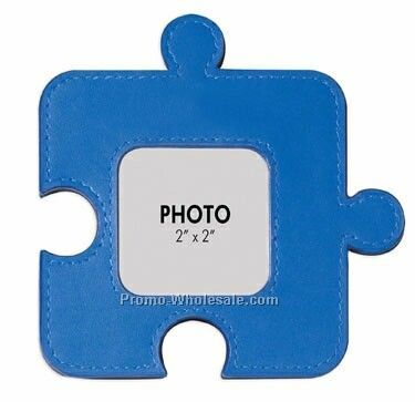 Colorplay Leather Jigsaw Puzzle Shaped Photo Frame