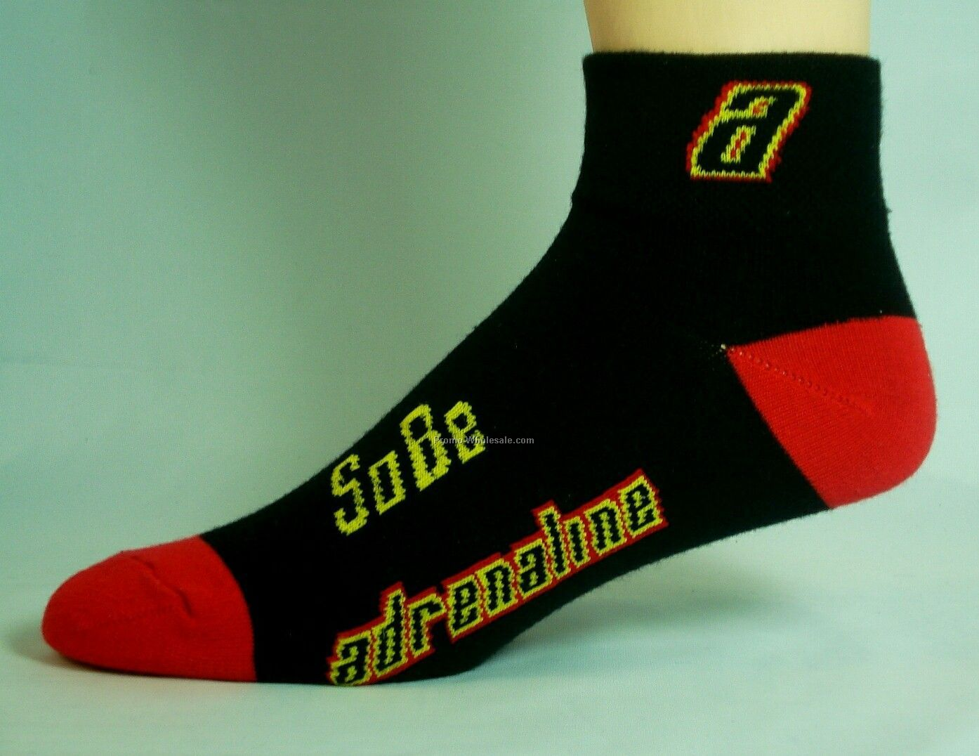 Custom Cool Max Hybrid Performance Quarter Sock