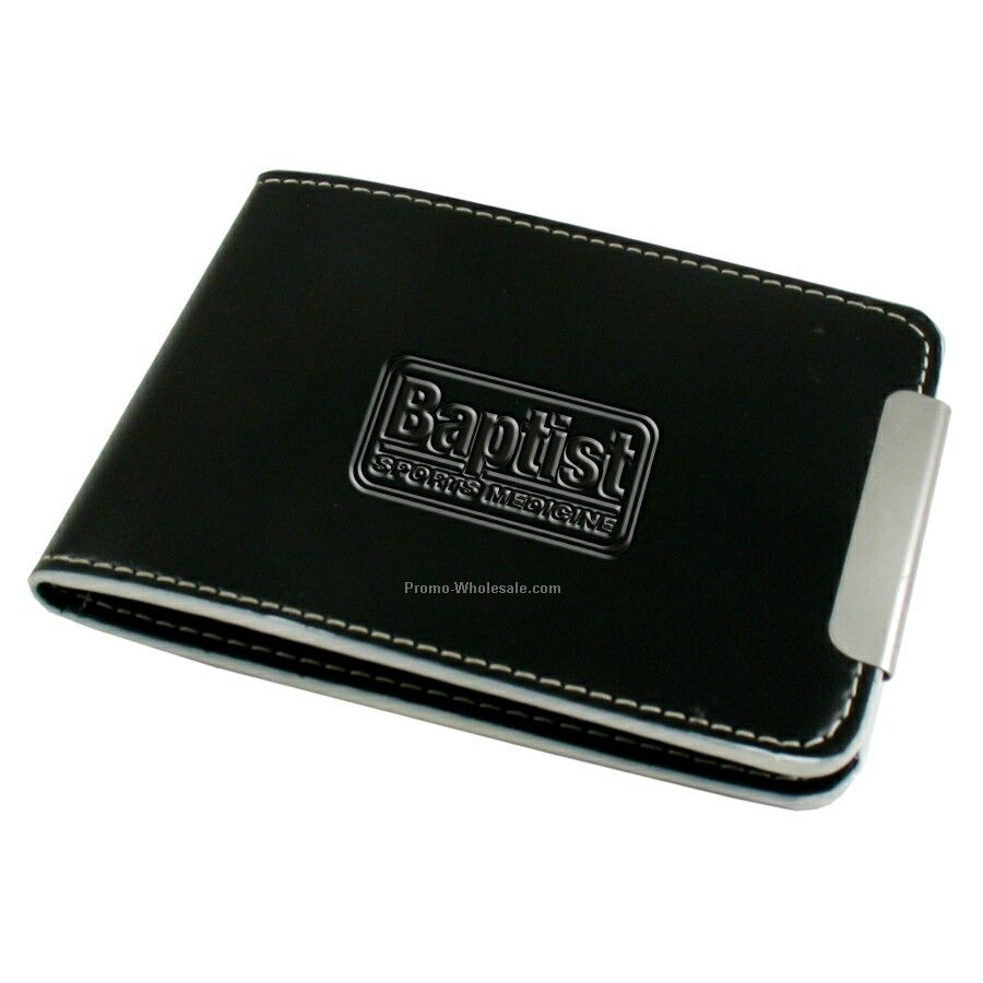 Debossed Notepad W/Metal Pen