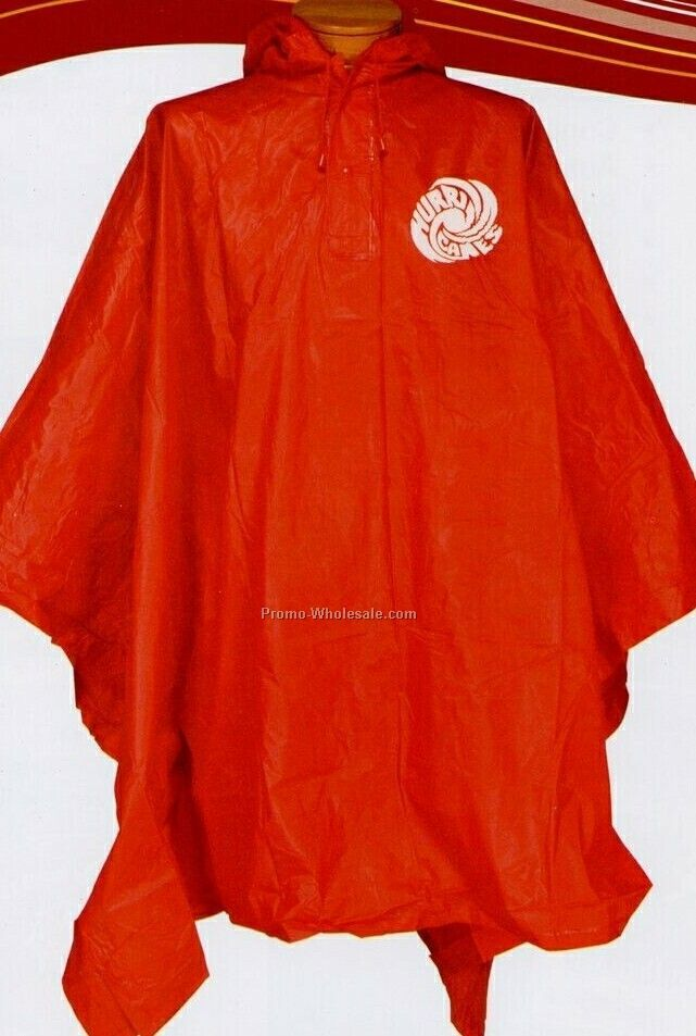 Direct Import Unisex Adult Poncho (Blank)