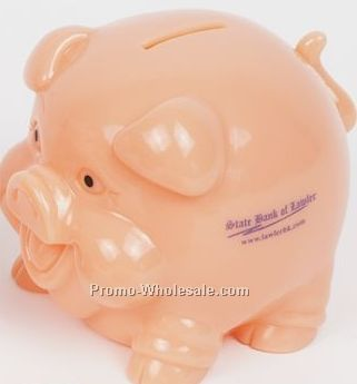 Fat Pig Flesh Piggy Bank