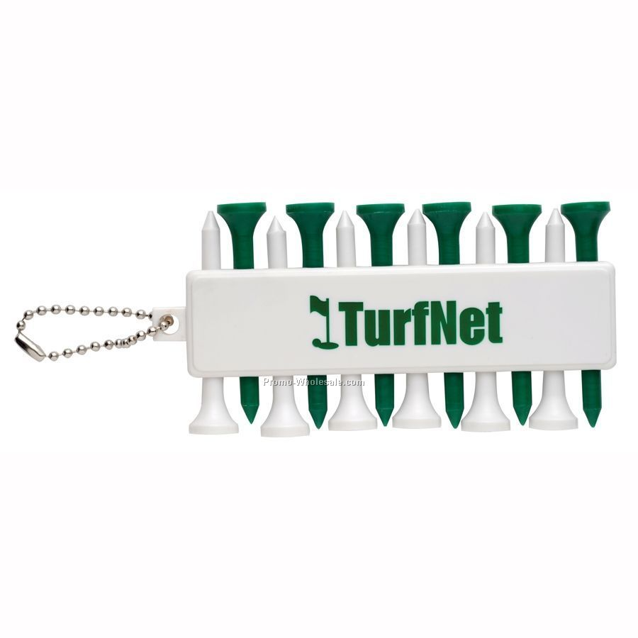 Golf Tee Set W/ Ball Markers