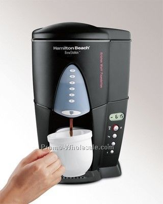 Hamilton Beach 12-cup Brewstation, Black