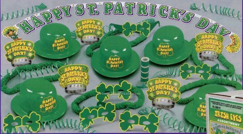 Irish Eyes Assortment For 10 W/ Retail Price Label
