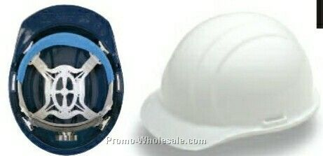 Liberty Mega Ratchet Safety Helmets (Blue)