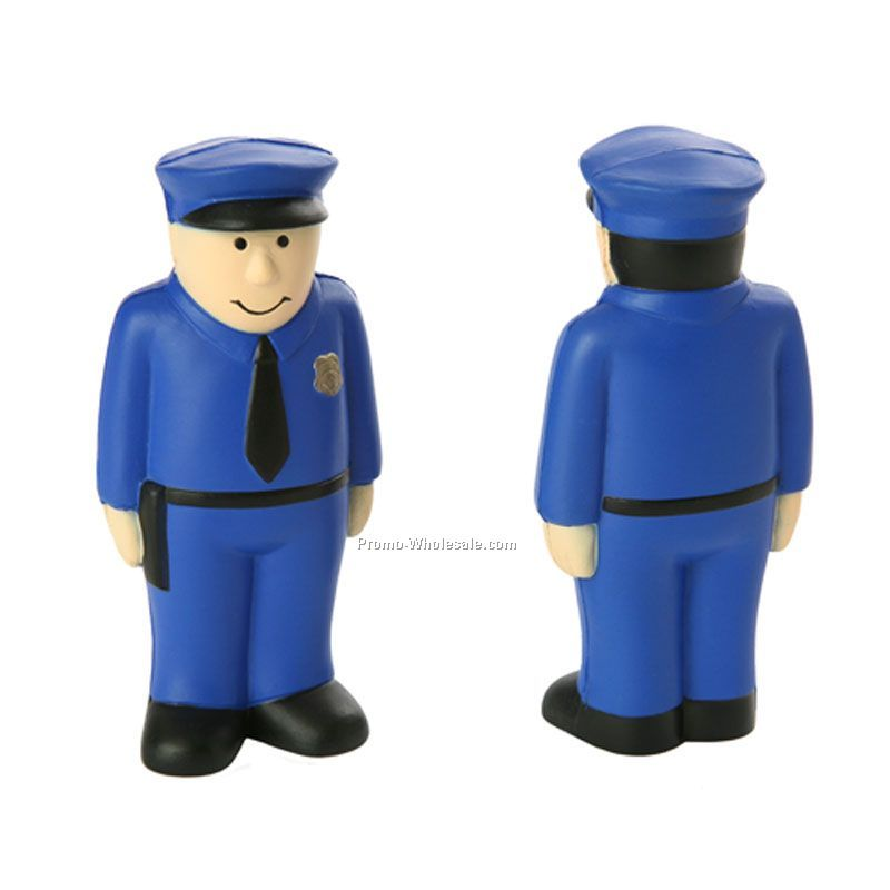 Occupation Stress Balls Policeman