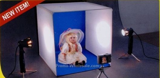 Platform Plus Deluxe Tabletop Photo Studio