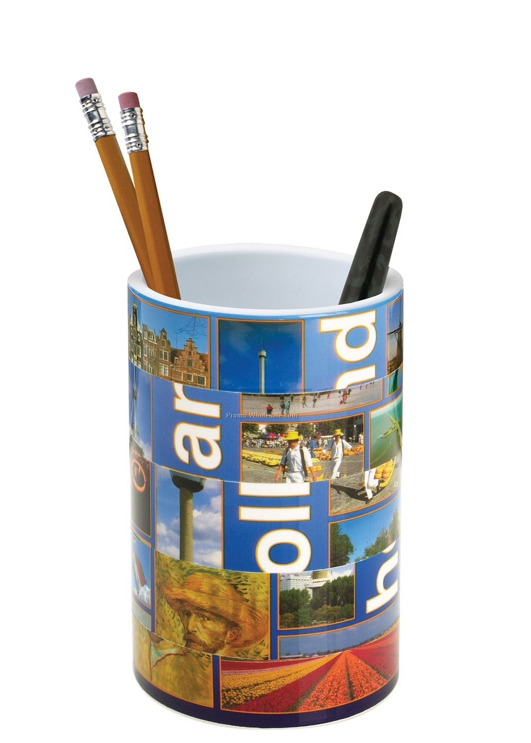 Puzzle Pencil Cup Without Handle