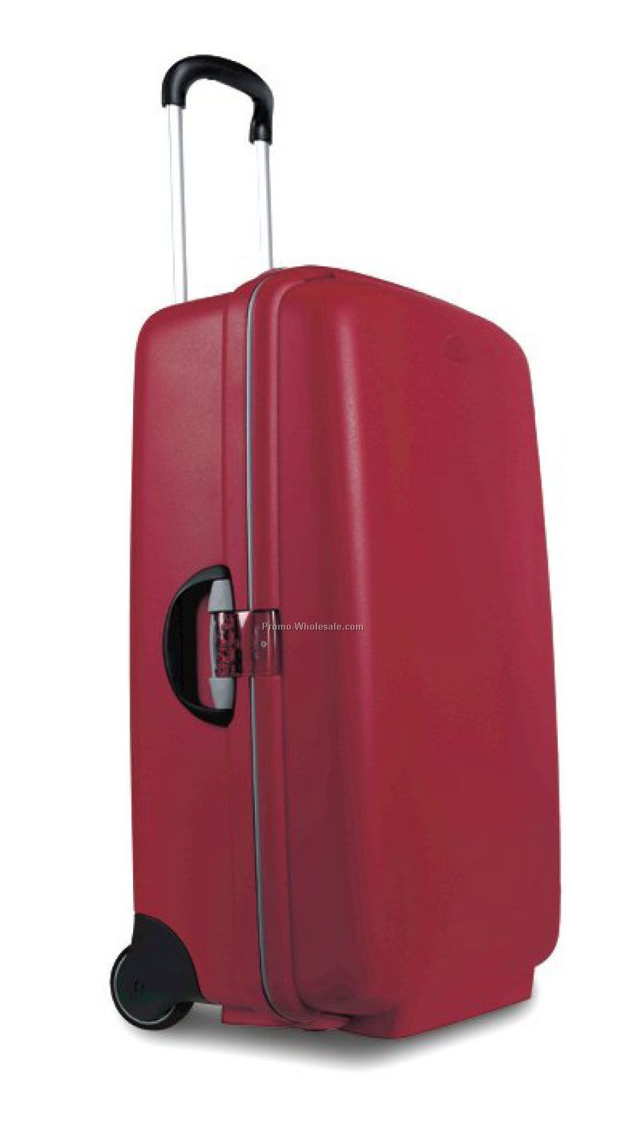 28 Upright F`lite Hardside Suitcase