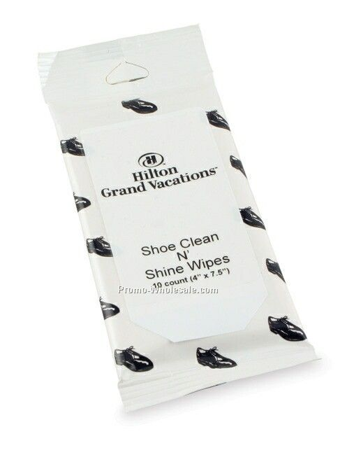 Shoe Clean N Shine Wipes