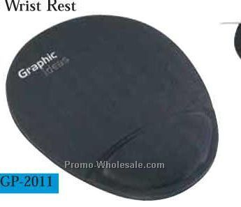 Soft-top Mouse Pad W/ Ergo-gel Wrist Rest (Screen Print)