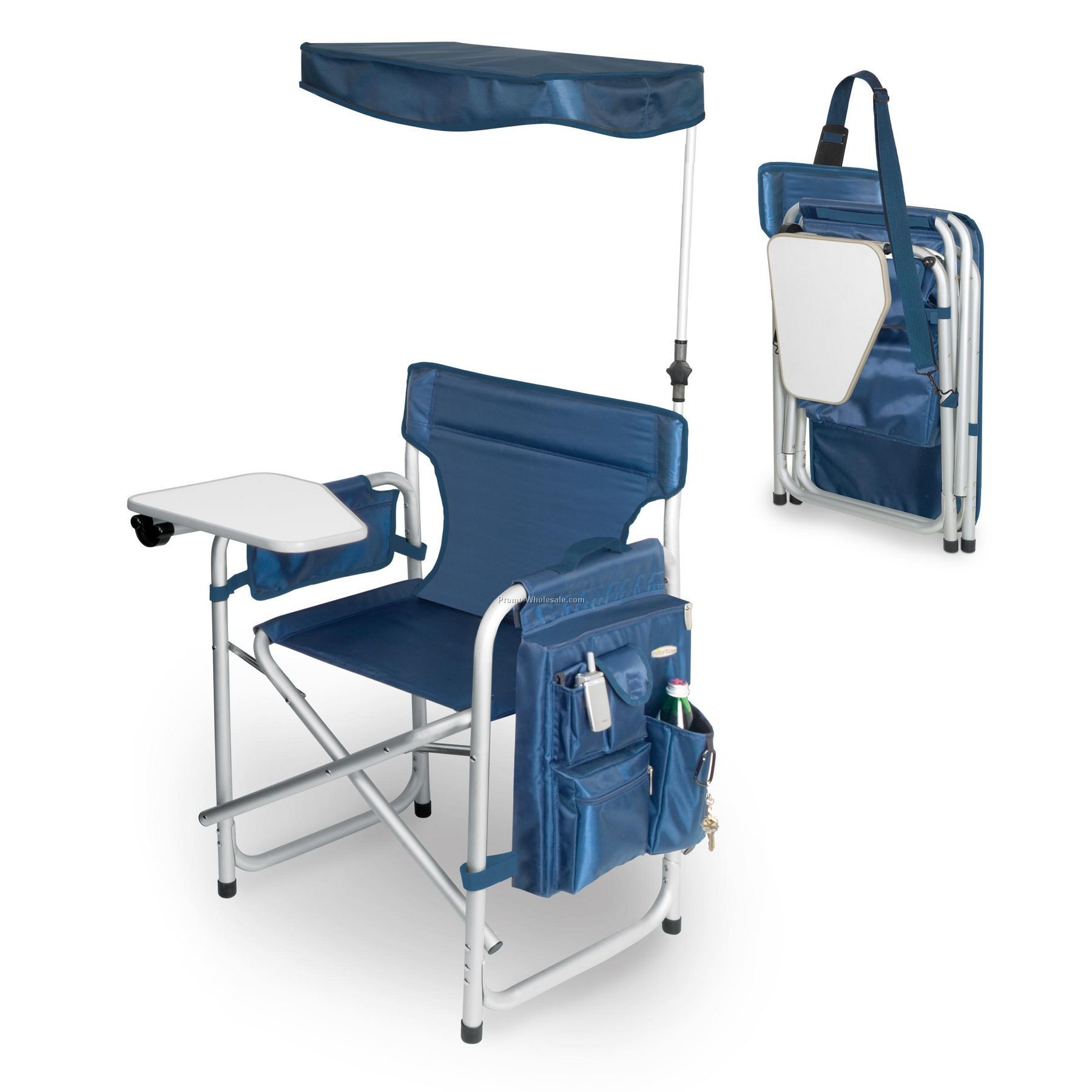 Sports Folding Chair Deluxe With Fold Away Table