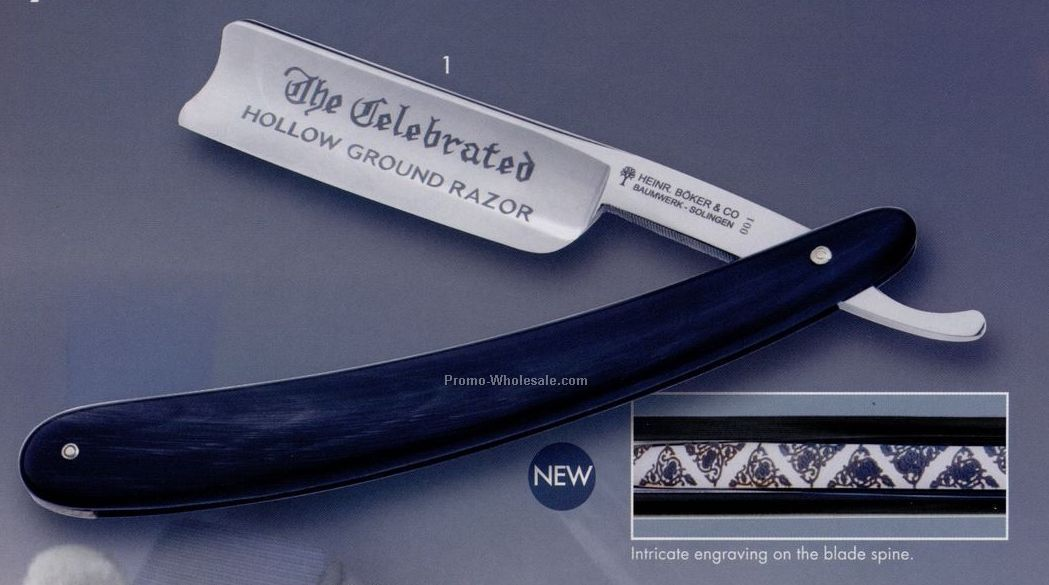 The Celebrated Straight Razor (Blank)