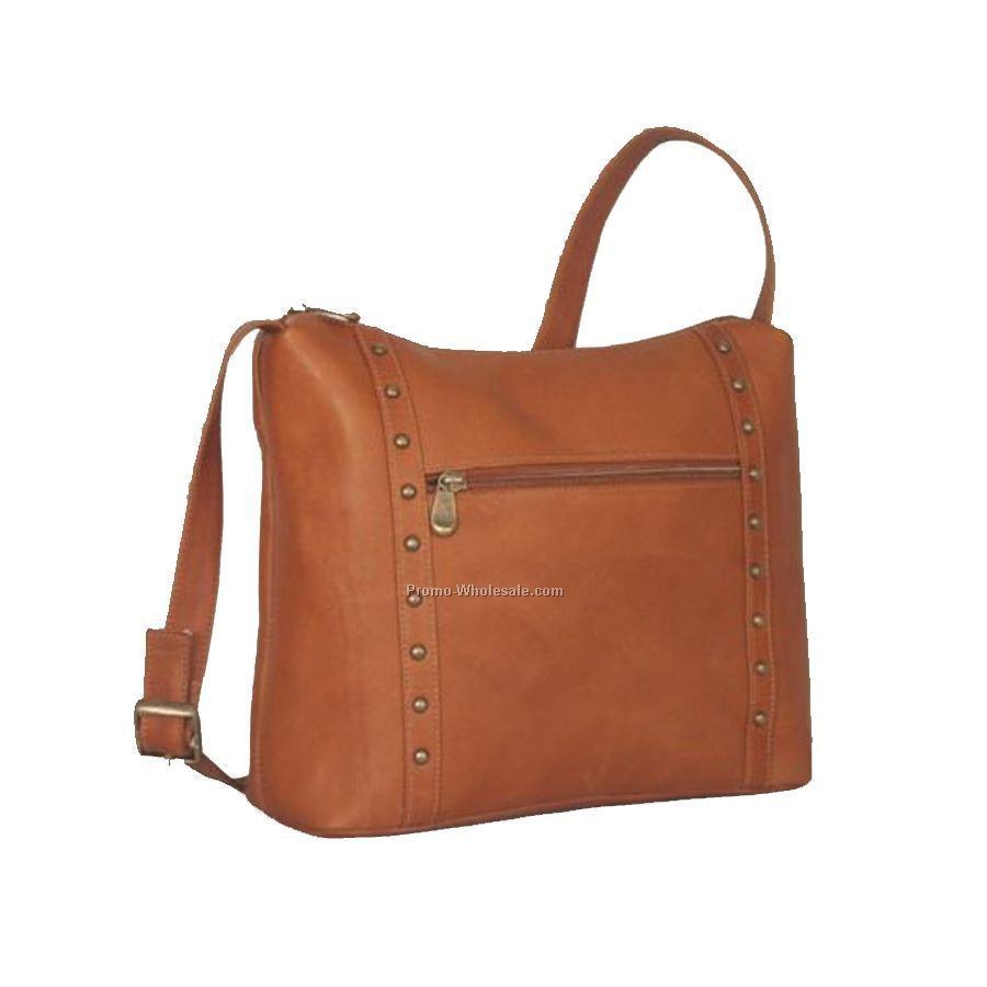 Top Zip Handbag