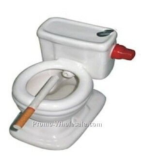 10cmx11cmx6cm Seated Toilet Ashtray