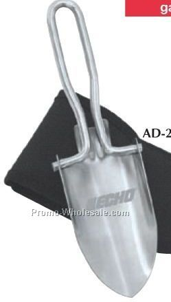 "2-1/2""x10-1/2""x1-1/2"" Stainless Steel Folding Utility Shovel"