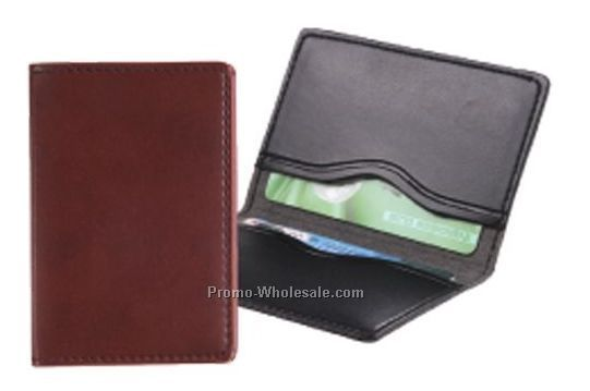 2 Panel Business Card Case