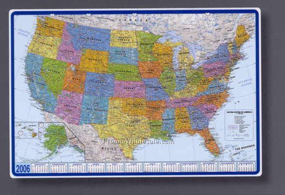 Mapschina wholesale mapspage19 25 12x17 world map calendar desk pad with americas centered gumiabroncs Choice Image