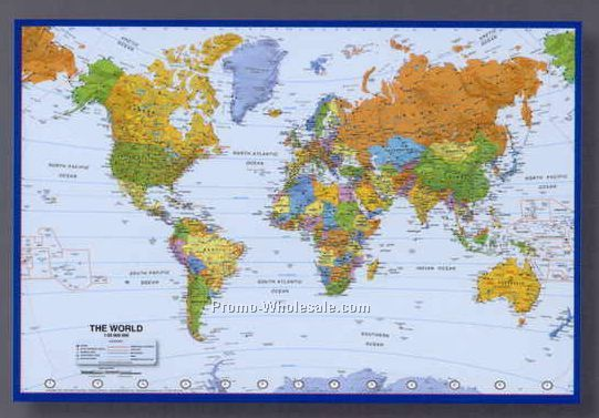 Mapschina wholesale mapspage13 25 12x17 world poster map with atlantic centered gumiabroncs Image collections