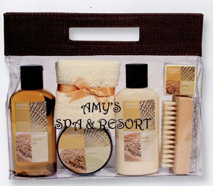 6 Piece Aromanice Spa Bath Set