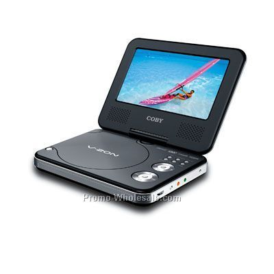 "7"" DVD Player With Mp3 Player By Colby"