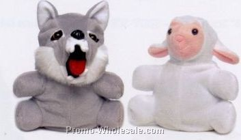 "7"" Reversible Wolf / Sheep Puppet"
