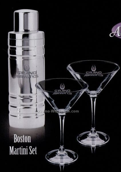 Boston 3 Piece Martini Set