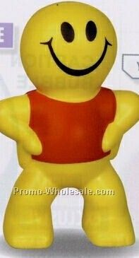Captain Smiley Squeeze Toy