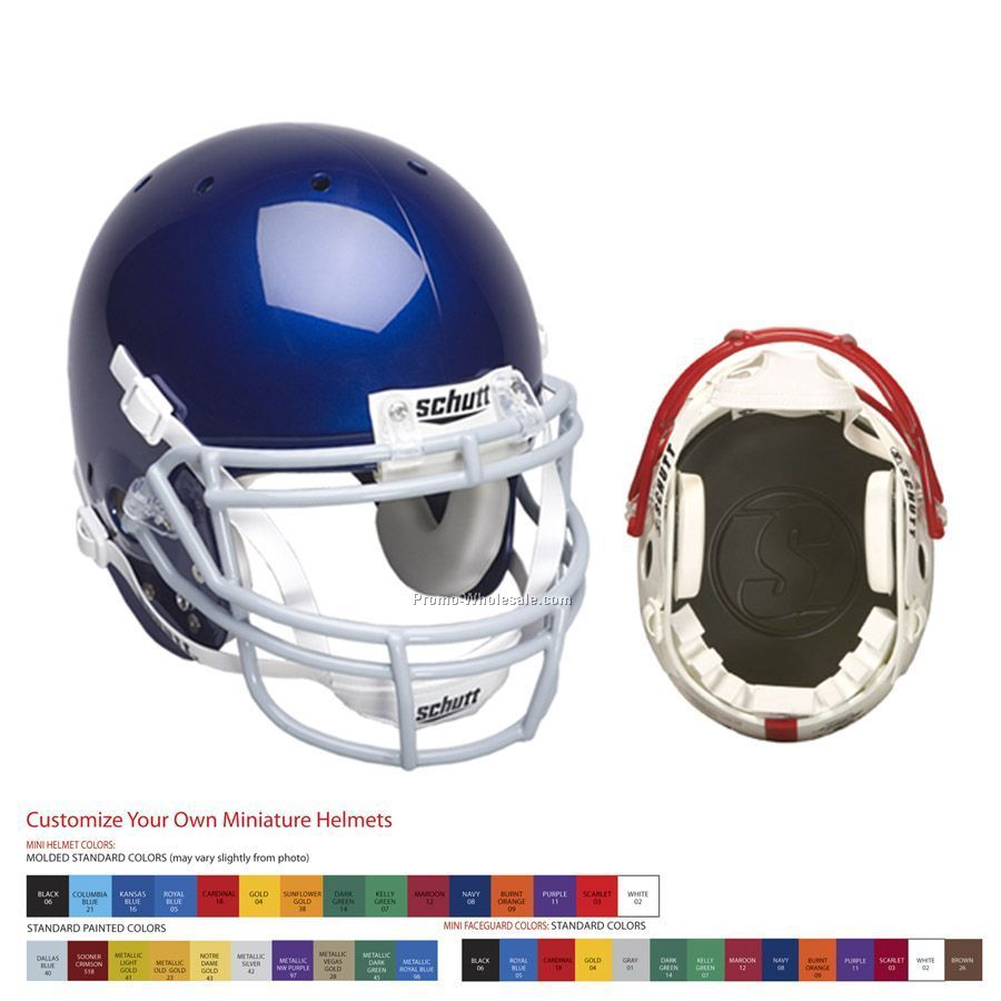 Custom Replica Football Helmet With Decals