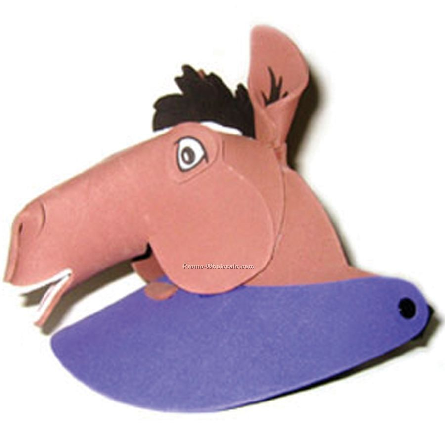 Foam Animal Sun Visor - Horse