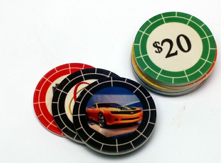 Full Color Double Sided Poker Chips