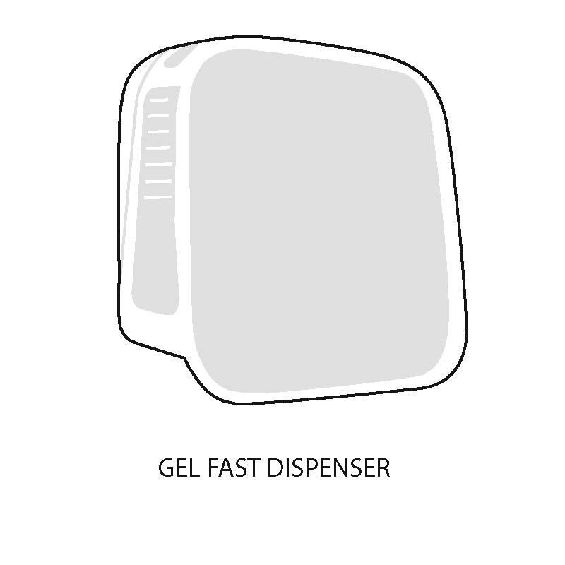 Gel Fast Hand Sanitizer And Holster