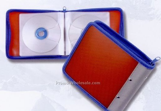 Glacier Plastic 24-cd/ DVD Case