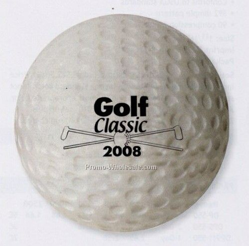 Golf Ball Stress-ease Toy (3 Day Shipping)