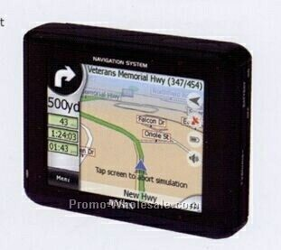 "Jensen 3-1/2"" Touch-screen Portable Navigation Unit"