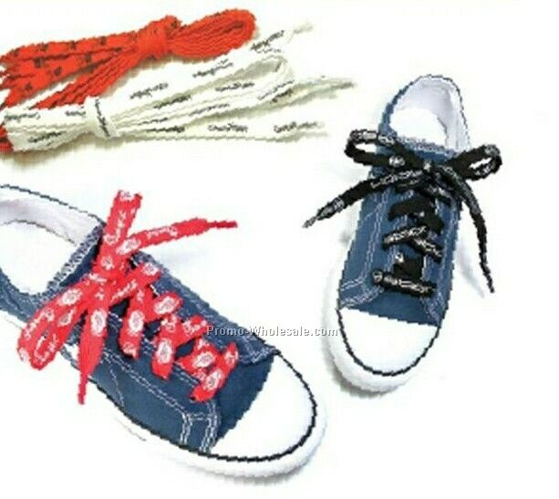Knit Polyester Shoe Laces (Sublimated)