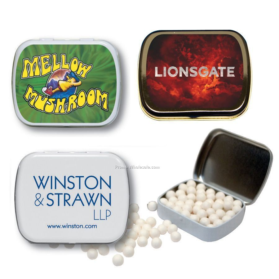 Mint Tin Filled With Sugar Free Mints