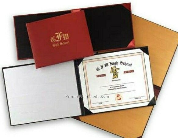 "Moroccan Certificate & Diploma Covers (6""x8"")"