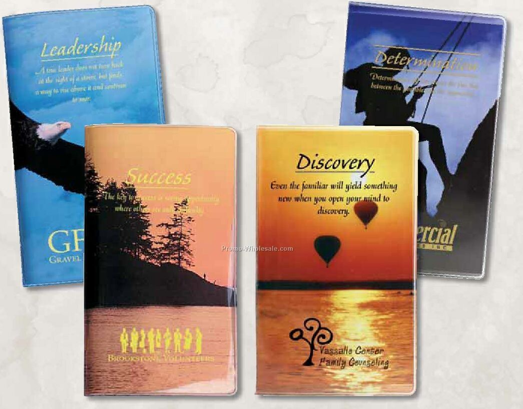 Motivational Series Pocket Address Book - Sunset (Leadership)