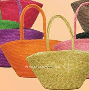 Plain Straw Bag