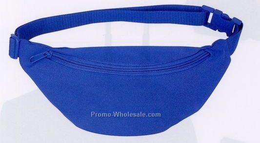 Polyester 1-pocket Fanny Pack (Screen Print)