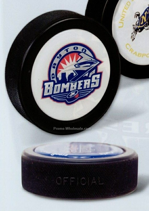 Round Hockey Puck