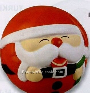 Santa Claus Ball Squeeze Toy