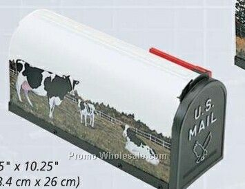Scenic Decor Series Mailboxes - Cows (Blank)