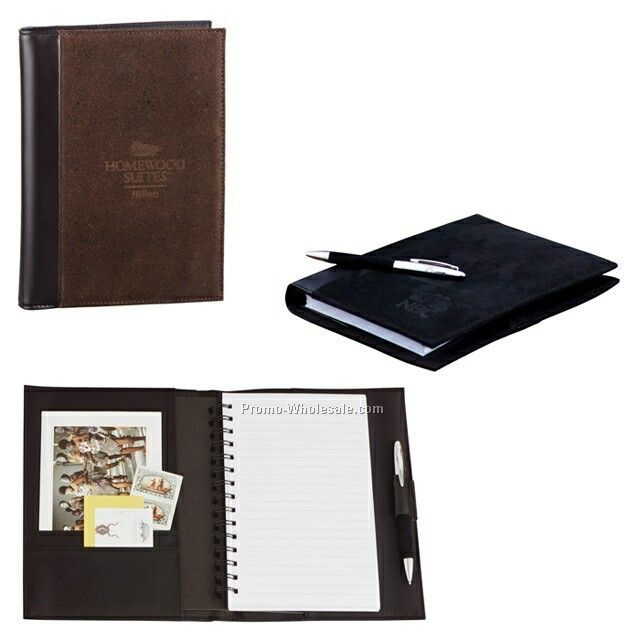Sedona Suede Journal With Pen