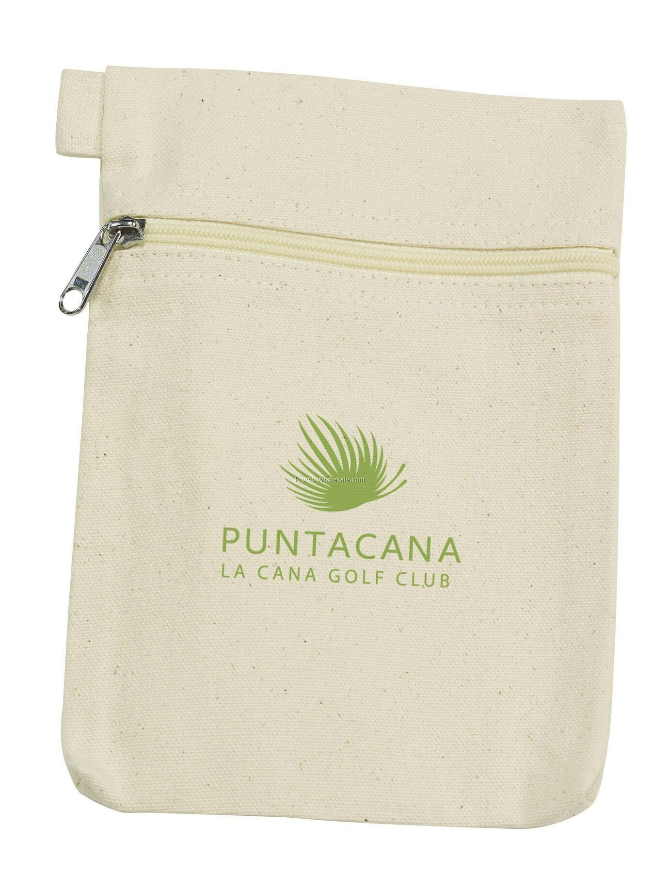 Tee Off Large Organic Cotton Pouch