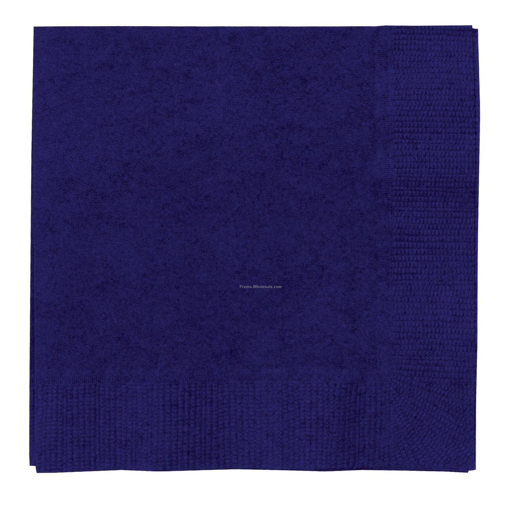 The 500 Line Colorware Navy Blue Luncheon Napkins
