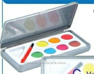 Water Color Paint Set W/ 7 Colors
